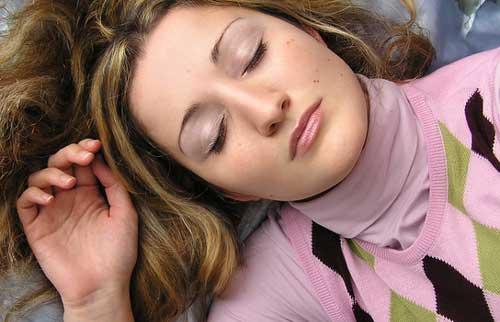 Femme apnée du sommeil